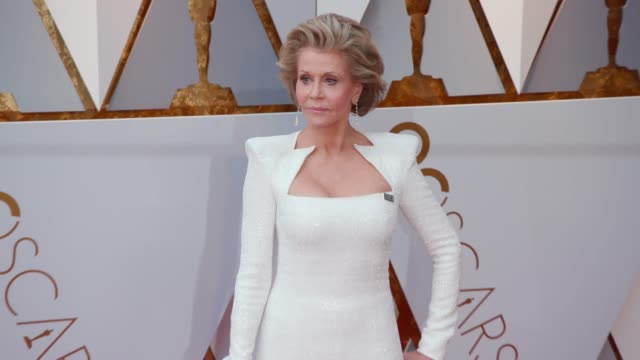 Jane Fonda at Dolby Theatre on March 04 2018 in Hollywood California