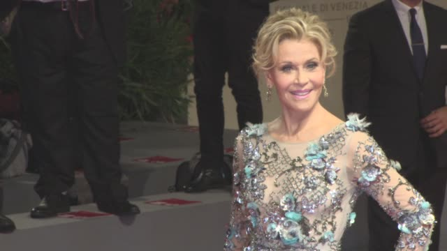 Jane Fonda at 'Our Souls at Night' Red Carpet 74th Venice International Film Festival at Palazzo del Cinema on September 01 2017 in Venice Italy
