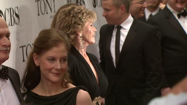Jane Fonda at the 63rd Annual Tony Awards Red Carpet at New York NY