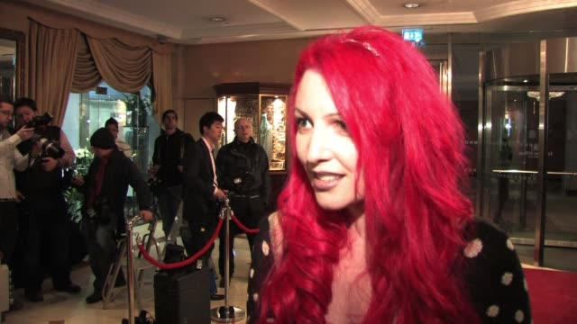jane goldman on the awards on success of kickass on the xmen first class movie interview jane goldman at hilton park lane on december 03 2010 in... - kick ass film title stock videos & royalty-free footage