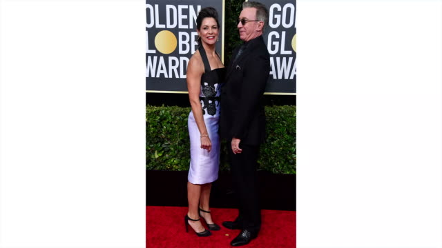 vídeos y material grabado en eventos de stock de jane hajduk and tim allen attend the 77th annual golden globe awards at the beverly hilton hotel on january 05 2020 in beverly hills california - the beverly hilton hotel