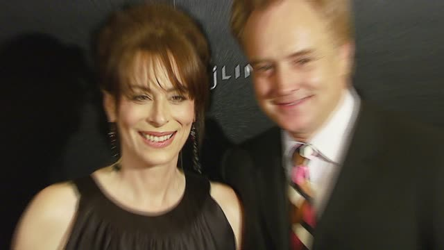 jane kaczmarek and bradley whitford at the 9th annual costume designers guild awards gala at the beverly wilshire hotel in beverly hills, california... - bradley whitford stock videos & royalty-free footage