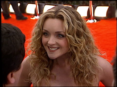 jane krakowski at the 2000 screen actors guild sag awards at the shrine auditorium in los angeles, california on march 12, 2000. - shrine auditorium stock videos & royalty-free footage