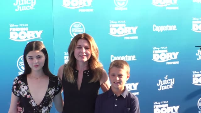 jane leeves at finding dory premiere at el capitan theatre in hollywood at celebrity sightings in los angeles on june 08 2016 in los angeles... - el capitan kino stock-videos und b-roll-filmmaterial