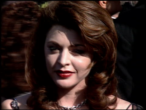 jane leeves at the 1994 emmy awards at the pasadena civic auditorium in pasadena, california on september 11, 1994. - pasadena civic auditorium stock videos & royalty-free footage