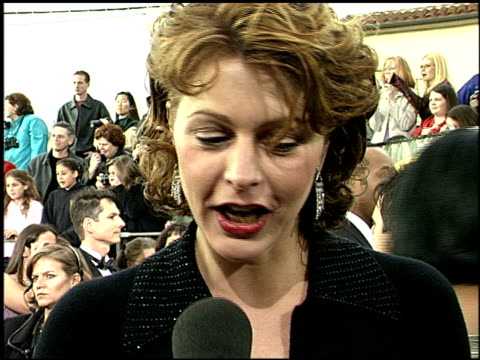 Jane Leeves at the 2001 Screen Actors Guild SAG Awards arrivals at the Shrine Auditorium in Los Angeles California on March 11 2001