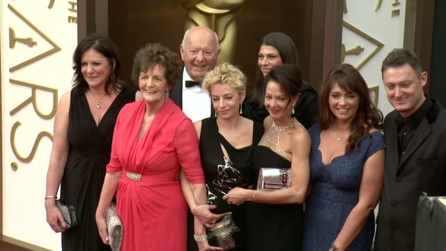 jane libberton, philomena lee and and guests - 86th annual academy awards - arrivals at hollywood & highland center on march 02, 2014 in hollywood,... - hollywood and highland center stock videos & royalty-free footage