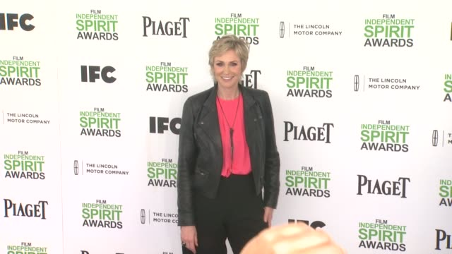 jane lynch 2014 film independent spirit awards arrivals on march 01 2014 in santa monica california - jane lynch stock videos and b-roll footage