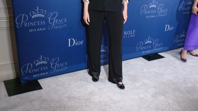 jane lynch at 2014 princess grace awards gala with presenting sponsor christian dior couture in los angeles ca - jane lynch stock videos and b-roll footage