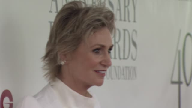 jane lynch at 40th annual fifi awards arrivals at alice tully hall on may 21 2012 in new york new york - jane lynch stock videos and b-roll footage