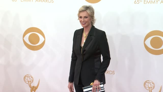 jane lynch at 65th annual primetime emmy awards arrivals on 9/22/2013 in los angeles ca - jane lynch stock videos and b-roll footage