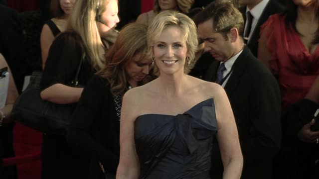 jane lynch at the 16th annual screen actors guild awards arrivals at los angeles ca - jane lynch stock videos and b-roll footage