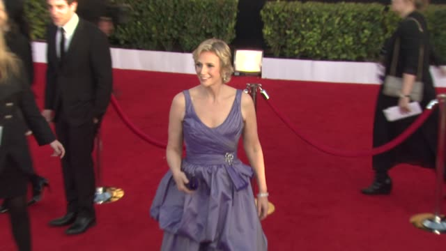 jane lynch at the 17th annual screen actors guild awards arrivals part 2 at los angeles ca - jane lynch stock videos and b-roll footage