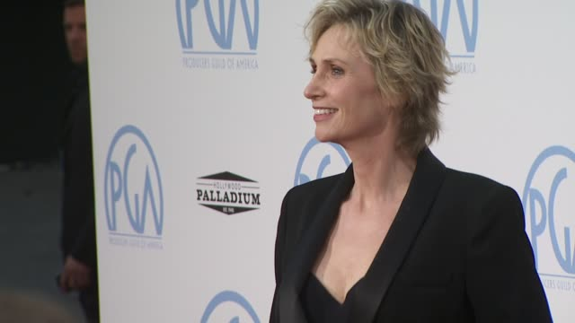 jane lynch at the 2010 producers guild awards at hollywood ca - jane lynch stock videos and b-roll footage
