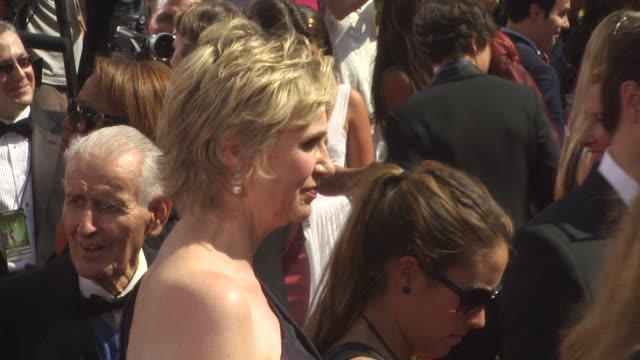 jane lynch at the 62nd primetime emmy awards arrivals part 3 at los angeles ca - jane lynch stock videos and b-roll footage