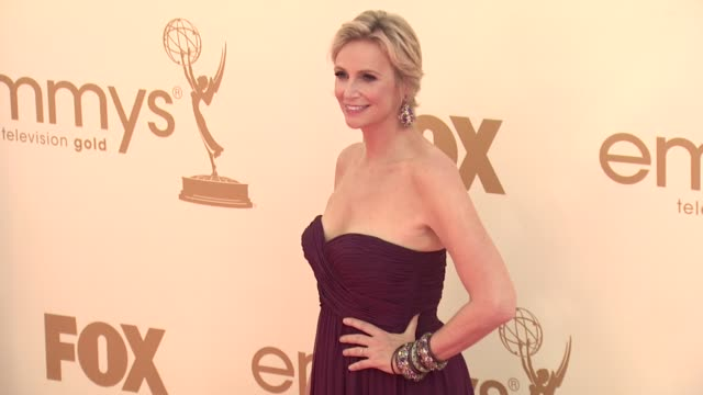 jane lynch at the 63rd primetime emmy awards arrivals part 1 at los angeles ca - エミー賞点の映像素材/bロール