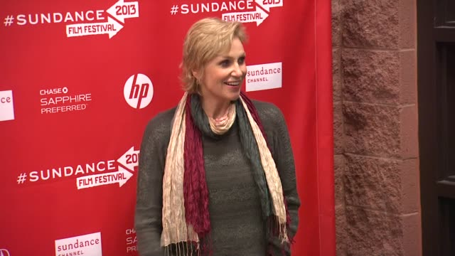 jane lynch at the 'afternoon delight' premiere 2013 sundance film festival jane lynch at the 'afternoon delight' premiere 2 at eccles center theatre... - jane lynch stock videos and b-roll footage
