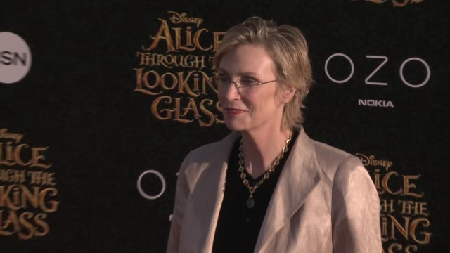 jane lynch at the alice through the looking glass los angeles premiere at the el capitan theatre on may 23 2016 in hollywood california - jane lynch stock videos and b-roll footage