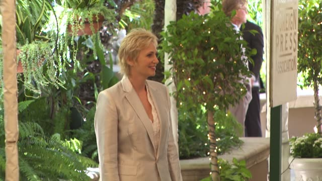jane lynch at the hollywood foreign press association's installation luncheon at los angeles ca - jane lynch stock videos and b-roll footage