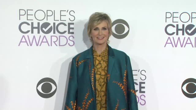 jane lynch at the people's choice awards 2016 at nokia plaza la live on january 6 2016 in los angeles california - jane lynch stock videos and b-roll footage