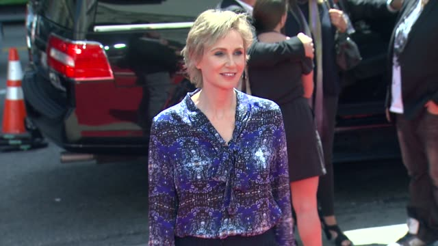 jane lynch at the three stooges los angeles premiere on 4/7/12 in hollywood ca - jane lynch stock videos and b-roll footage