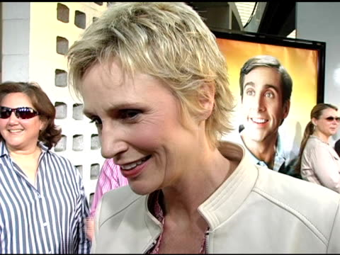 jane lynch on the premise of this film and the platform it gives steve carell on every performance being his best on her role on her next project... - jane lynch stock videos and b-roll footage
