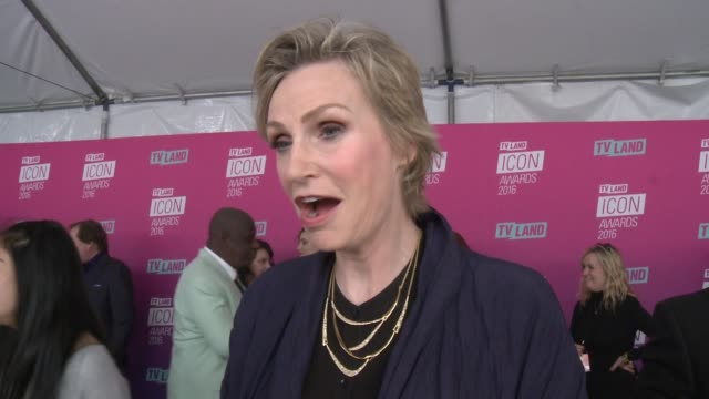 interview jane lynch on why it was important for her to support norman lear talks about his career and the fact that he is still making television at... - norman lear stock videos and b-roll footage