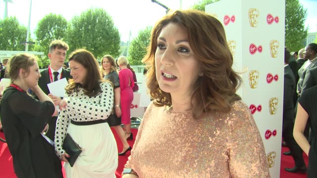 jane mcdonald on time's up, fellow nominees and favourite shows at the royal festival hall on may 13, 2018 in london, england. - jane mcdonald stock videos & royalty-free footage