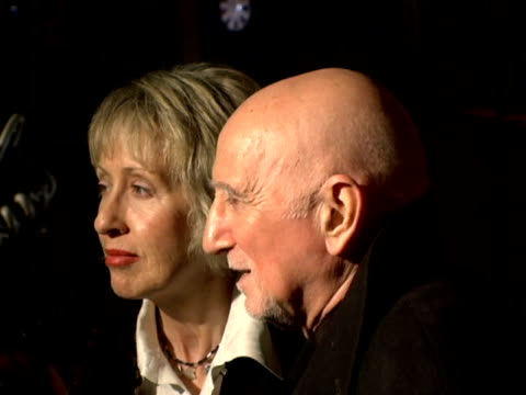 stockvideo's en b-roll-footage met jane pittson and dominic chianese at the entertainment weekly's viewing party for 2006 academy awards at elaine's in new york, new york on march 5,... - entertainment weekly