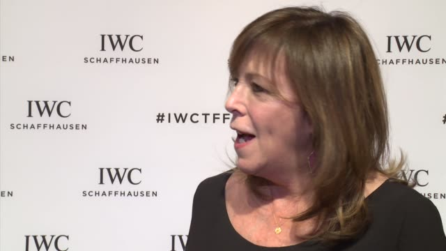 INTERVIEW Jane Rosenthal talks about the 15th anniversary of the Tribeca Film Festival at IWC Schaffhausen Fourth Annual For the Love of Cinema Gala...