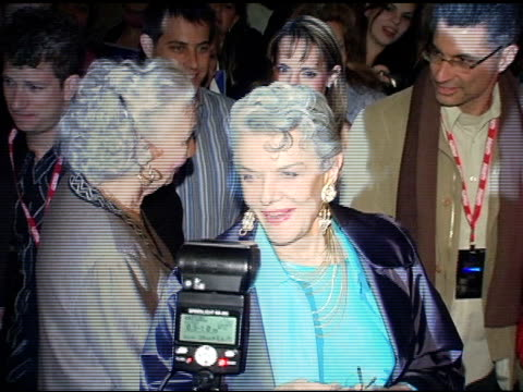 jane russell at the 20th annual santa barbara international film festival platinum award tribute at the arlington theatrearlington theatre in santa... - platinum stock-videos und b-roll-filmmaterial