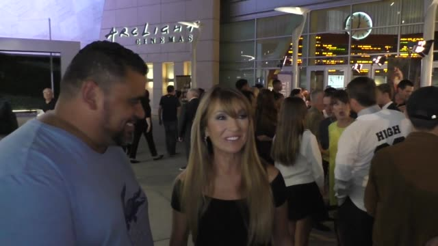 jane seymour and chris rudd outside the high strung free dance premiere at arclight cinemas in hollywood on october 10 2019 at celebrity sightings in... - arclight cinemas hollywood stock videos & royalty-free footage