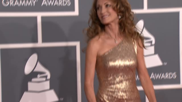 Jane Seymour at 54th Annual GRAMMY Awards Arrivals on 2/12/12 in Los Angeles CA