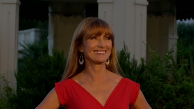 jane seymour at 54th montecarlo television festival day 2 on june 08 2014 in montecarlo monaco - day 2 stock videos & royalty-free footage