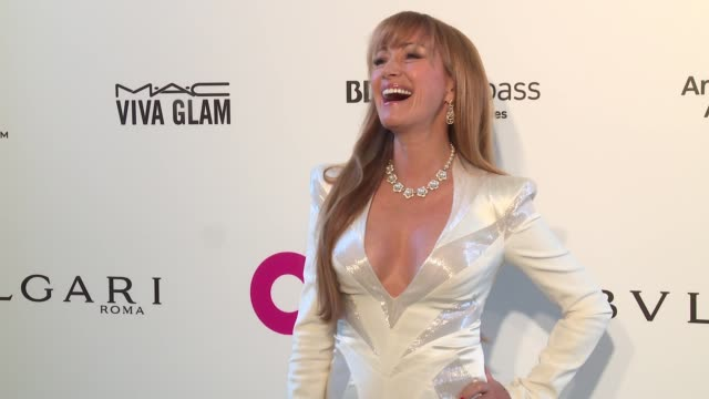 jane seymour at elton john aids foundation presents the 26th annual academy awards viewing party on march 04 2018 in west hollywood california - 90th annual academy awards stock videos & royalty-free footage