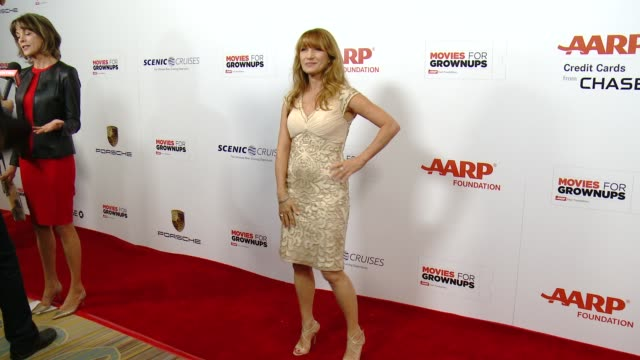 vídeos de stock, filmes e b-roll de jane seymour at the 14th annual movies for grownups awards gala at the beverly wilshire four seasons hotel on february 02 2015 in beverly hills... - four seasons hotel