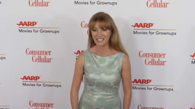 jane seymour at the 18th annual movies for grownups awards at the beverly wilshire four seasons hotel on february 04, 2019 in beverly hills,... - フォーシーズンズホテル点の映像素材/bロール
