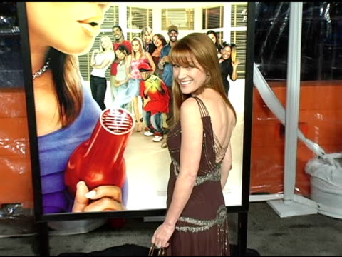 jane seymour at the 'beauty shop' world premiere at the mann national theatre in westwood, california on march 24, 2005. - mann national theater video stock e b–roll
