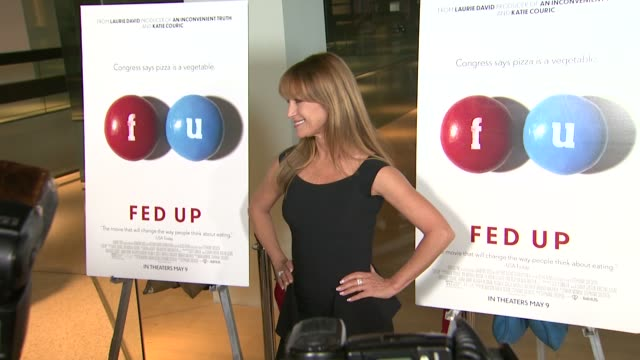 Jane Seymour at the Fed Up Los Angeles Premiere at Pacific Design Center on May 08 2014 in West Hollywood California