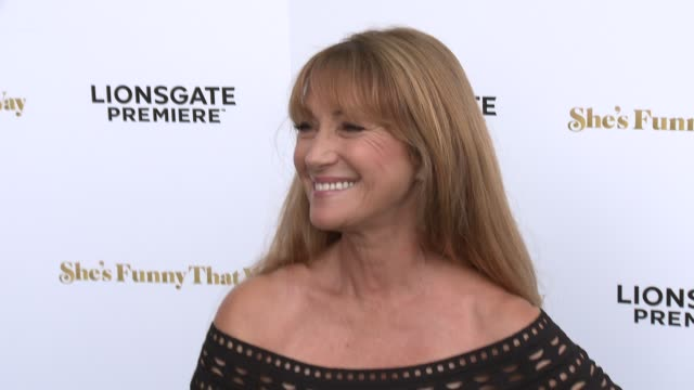 """jane seymour at the """"she's funny that way"""" los angeles premiere at harmony gold theatre on august 19, 2015 in los angeles, california. - she's funny that way点の映像素材/bロール"""