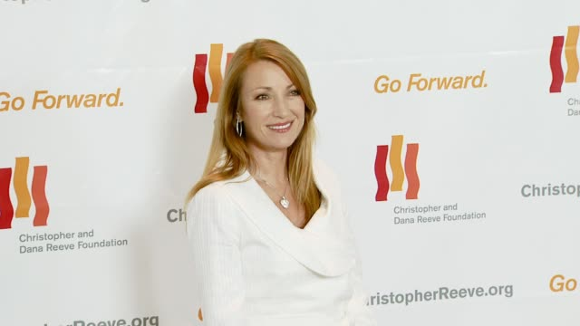 jane seymour at the third annual los angeles gala for the christopher and dana reeve foundation honoring robin williams at the century plaza hotel in... - christopher and dana reeve foundation stock videos and b-roll footage