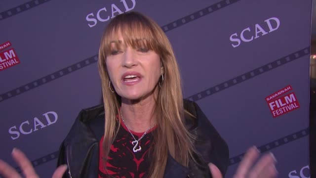 jane seymour talks about alzheimer's awareness at scad presents 17th annual savannah film festival at scad museum of art on november 02, 2014 in... - film festival stock videos & royalty-free footage