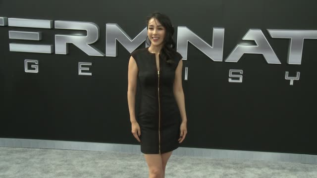 Jane Wu at the Premiere Of Paramount Pictures' Terminator Genisys at Dolby Theatre on June 28 2015 in Hollywood California