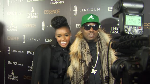 janelle monae and big boi at the 2nd annual essence black women in music event honoring janelle monae at los angeles ca. - big boi stock videos & royalty-free footage