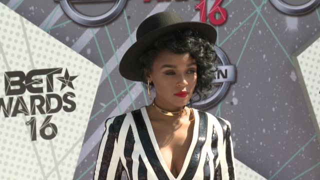Janelle Monae at 2016 BET Awards in Los Angeles CA