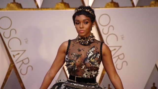 Janelle Monáe at 89th Annual Academy Awards Arrivals at Hollywood Highland Center on February 26 2017 in Hollywood California 4K