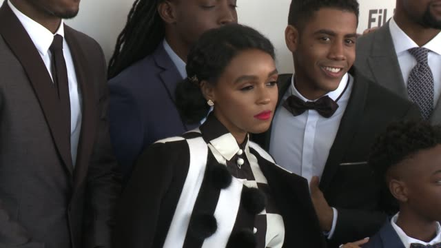 Janelle Monáe at the 2017 Film Independent Spirit Awards Arrivals on February 25 2017 in Santa Monica California