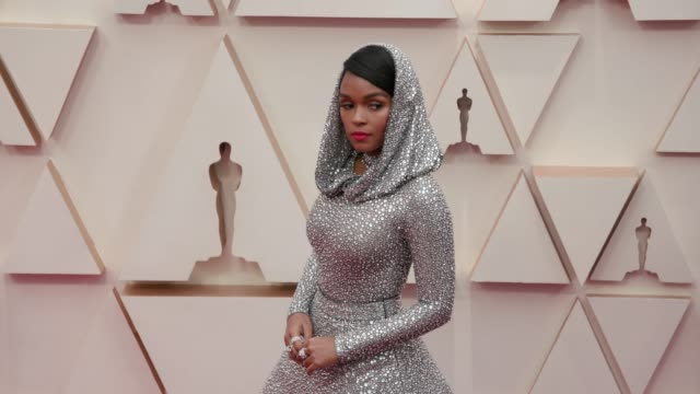 janelle monáe at the 92nd annual academy awards at dolby theatre on february 09, 2020 in hollywood, california. - academy awards stock videos & royalty-free footage
