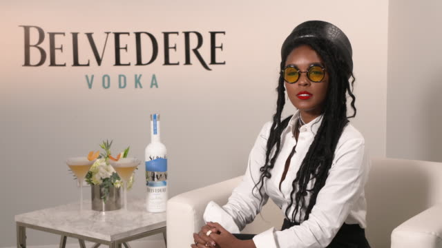 stockvideo's en b-roll-footage met janelle monáe talks about the significance of the event, a beautiful future, and the importance of supporting local artists at the belvedere and... - kunstenaar