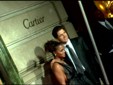 Janet Jackson and Frederic De Narp President and CEO Cartier NA at the Cartier and Interview Magazine Celebration of Love at the Cartier Mansion in...